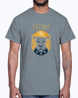 Trump Lion 2 Cotton T-Shirt