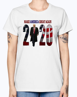 """The Boss"" MAGA 2020 Gildan Ladies Missy T-Shirt"