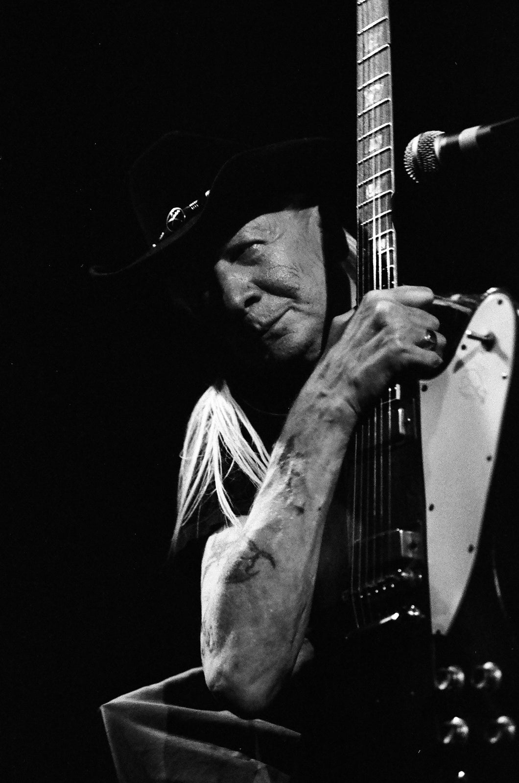 Johnny Winter 8x10 loose print