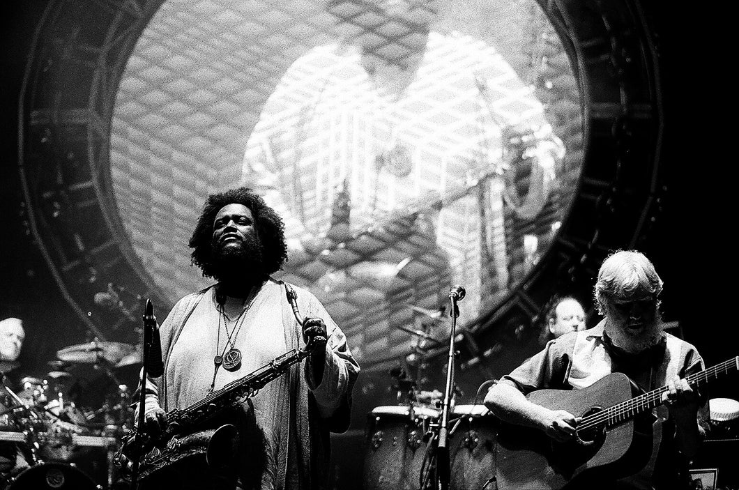 Kamasi Washington/String Cheese Incident 8x10 loose print
