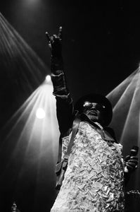 George Clinton 8x10 loose print