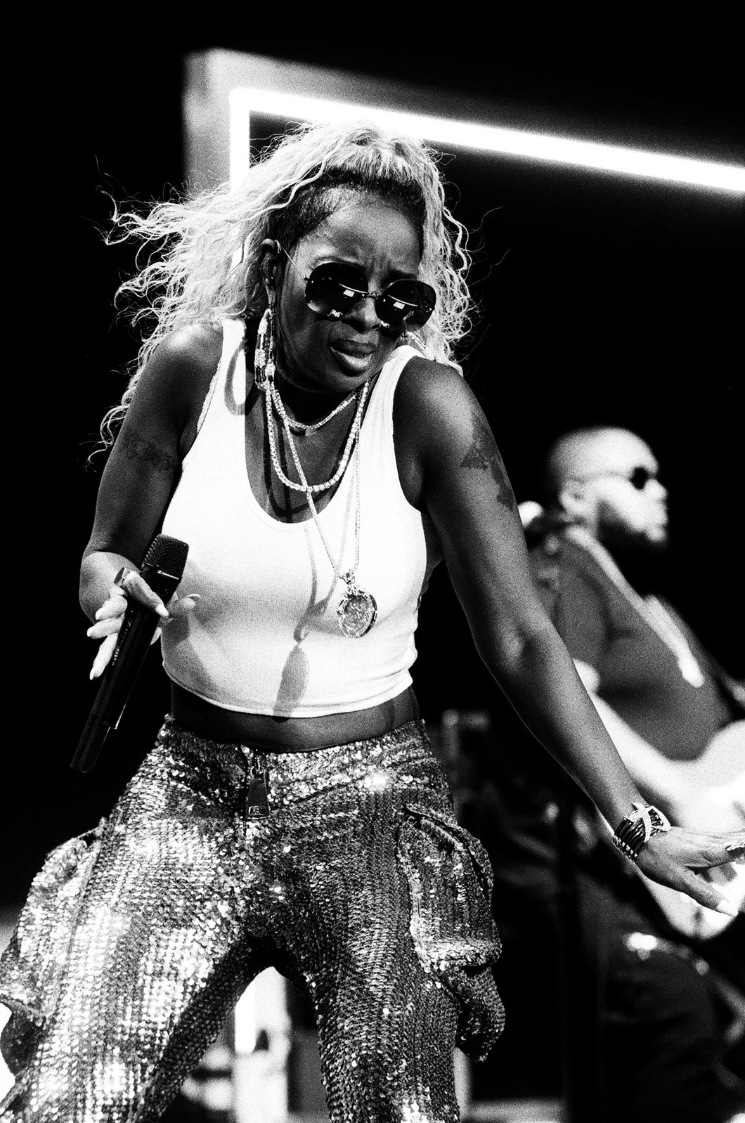 Mary J Blige 8x10 loose print