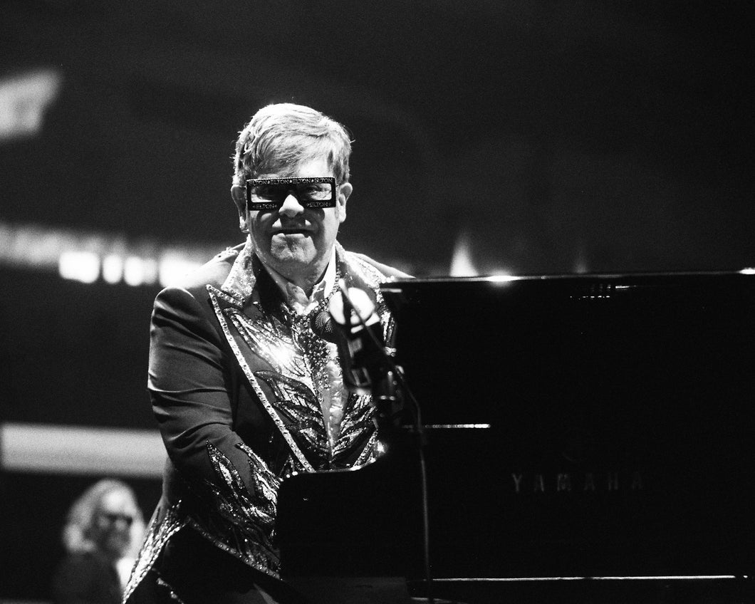 Elton John Framed Photo Art 30x45