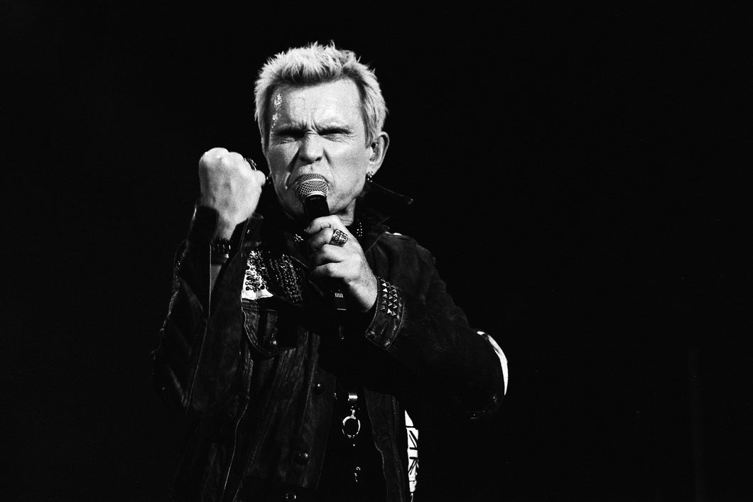 Billy Idol (2) 8x10 loose print