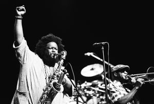 Kamasi Washington Framed Photo Art 30x45