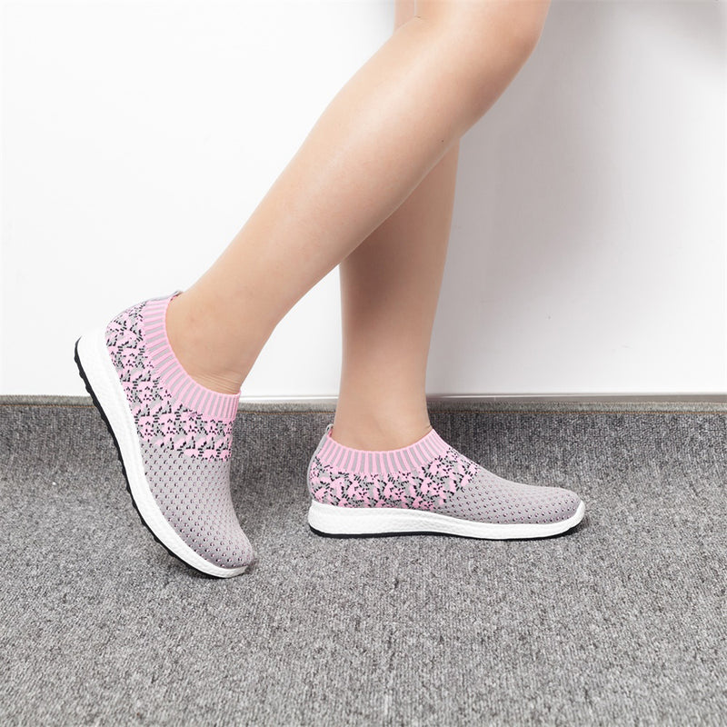Pattern knitted Shoes