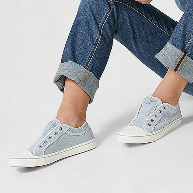 Vintage Denim Sneakers