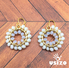 Load image into Gallery viewer, Baby O Circle Earrings