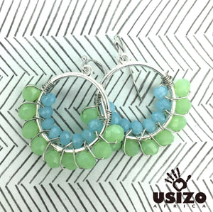 2.5cm Half Circle Earrings