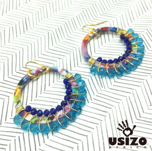 Multi-Colour Acrylic Hoops