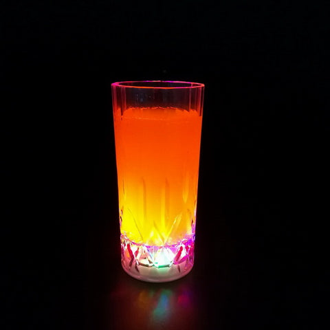 10oz Plastic flashing drinking juice cup