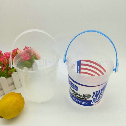 34oz Plastic ice bucket