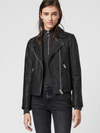 Dalby Leather Biker Jacket Black | JforJacket