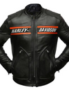 Goldberg Harley Davidson Leather Biker Jacket