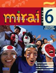 Mirai 6 is popular in Australian high schools and high schools around the world for high school students and beginner students of Japanese with easy sentences useful vocabulary and lots of work exercises to do inside the textbook course book