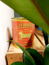 Load image into Gallery viewer, Red Leopard Tin Planter - 10 x 11cm
