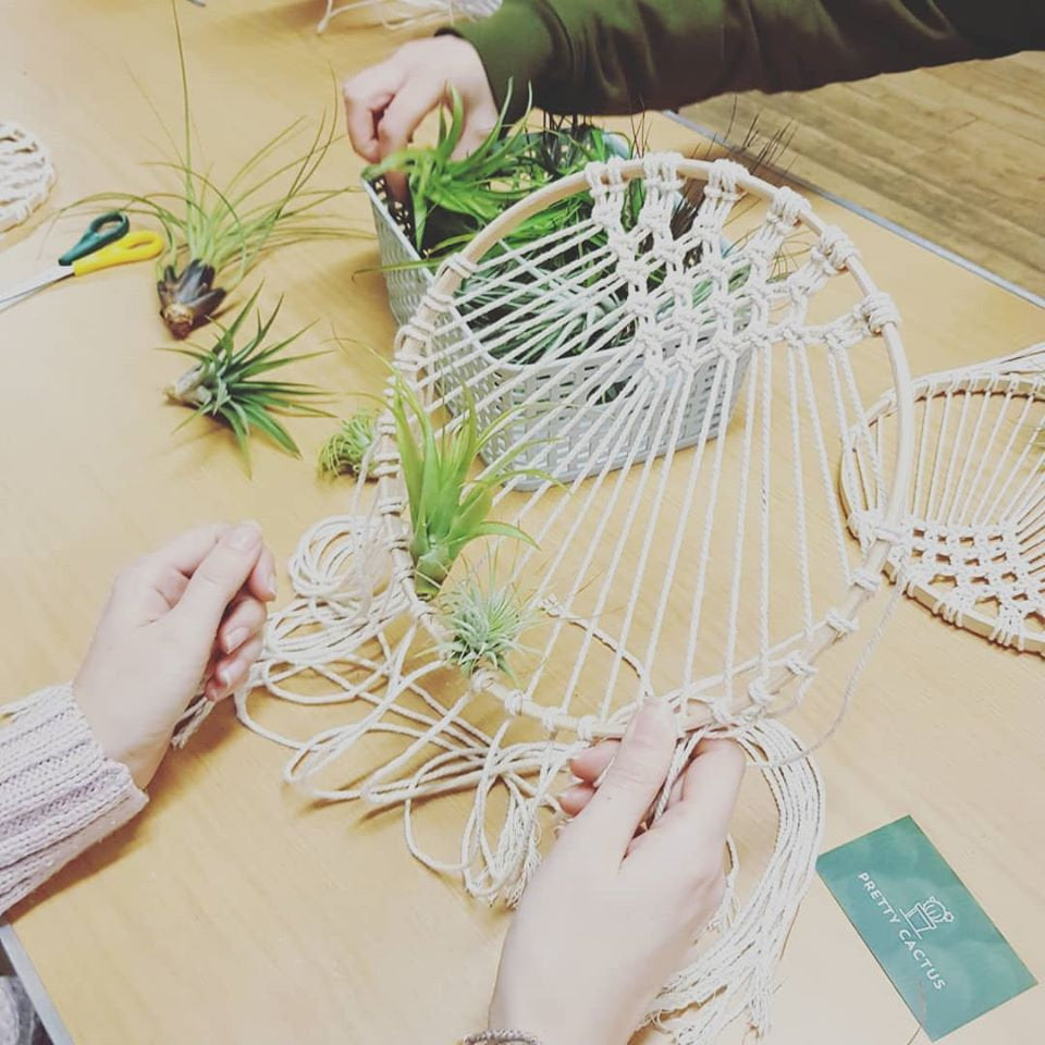 Make your Own Macrame Dream Catcher - Complete Kit