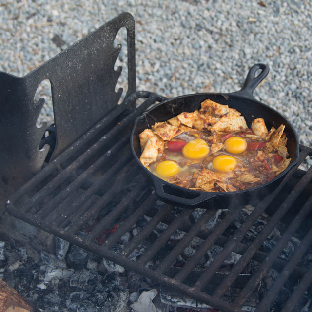 Camp Recipe: Campfire Chilaquiles