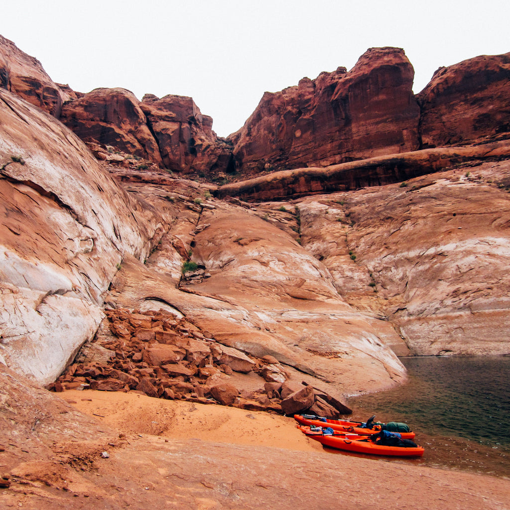 Kayaks, High Winds, and IPAs on Lake Powell