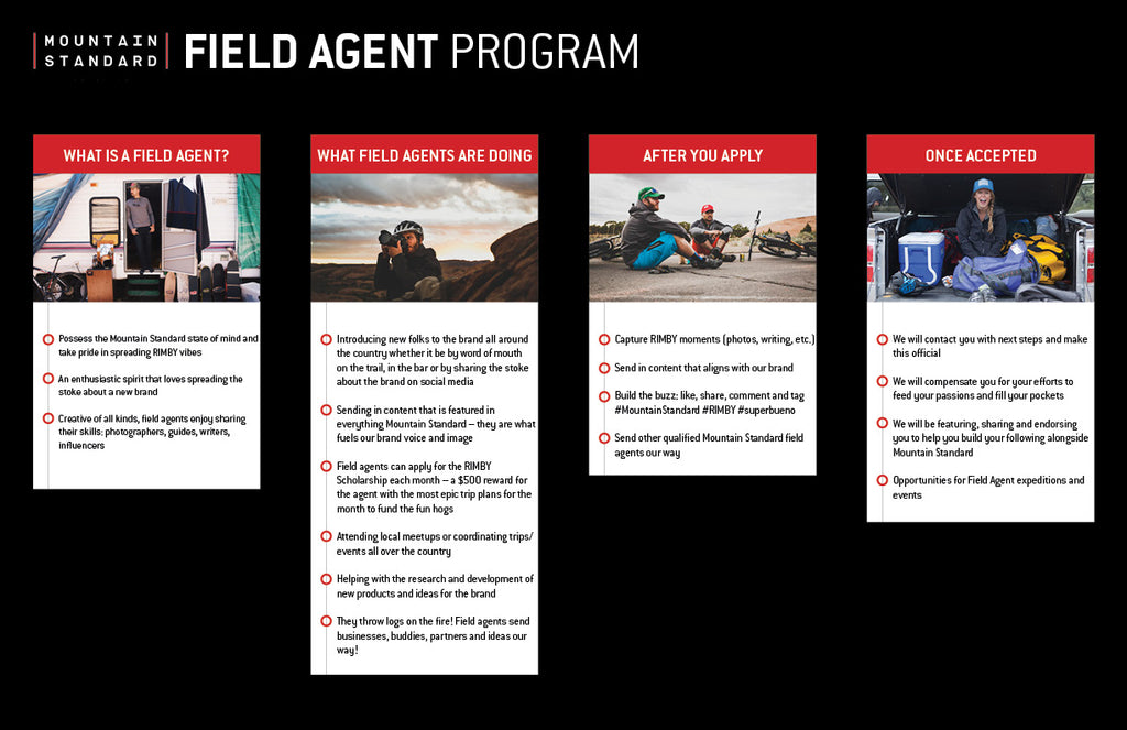 Mountain Standard Field Agent Program