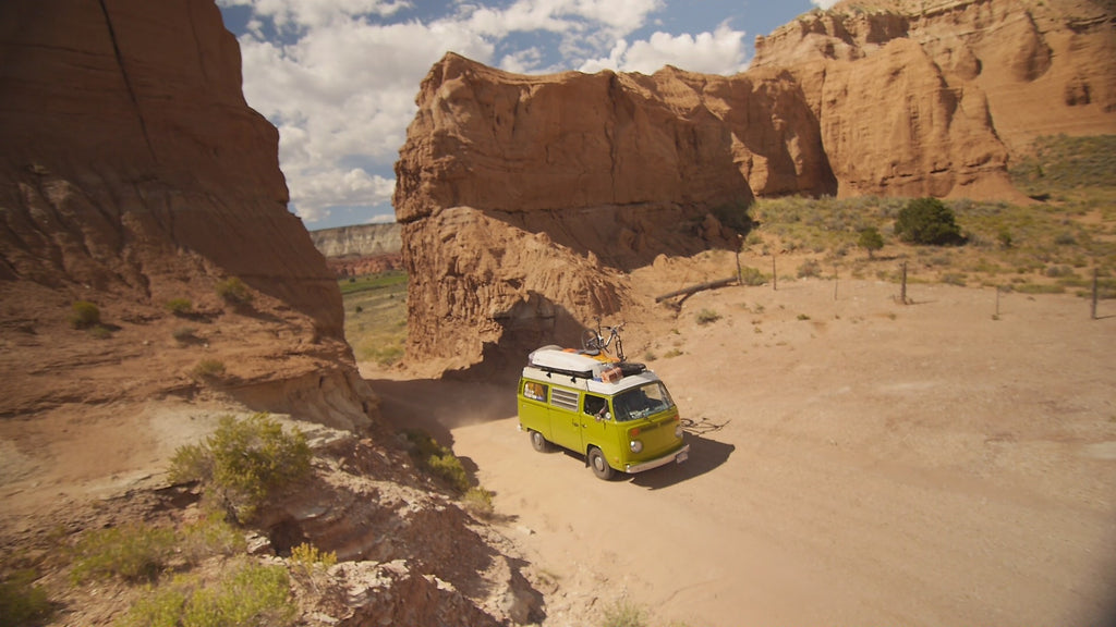 VW Bus in Moab