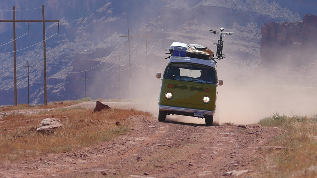 VW Bus driving