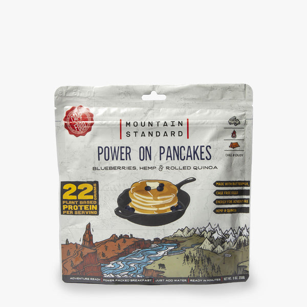 Power On Protein Pancakes