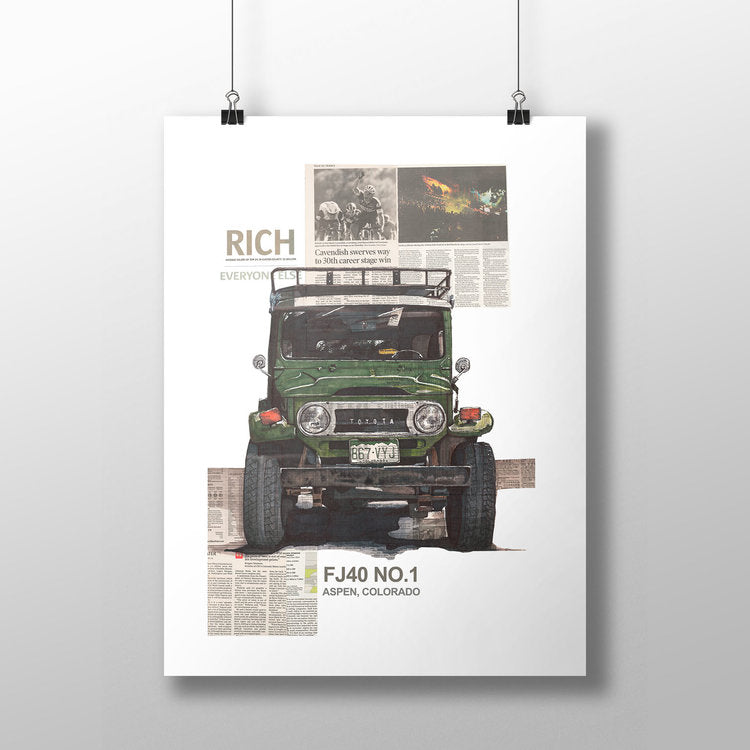 Adam Ambro Designs – FJ40 No. 1