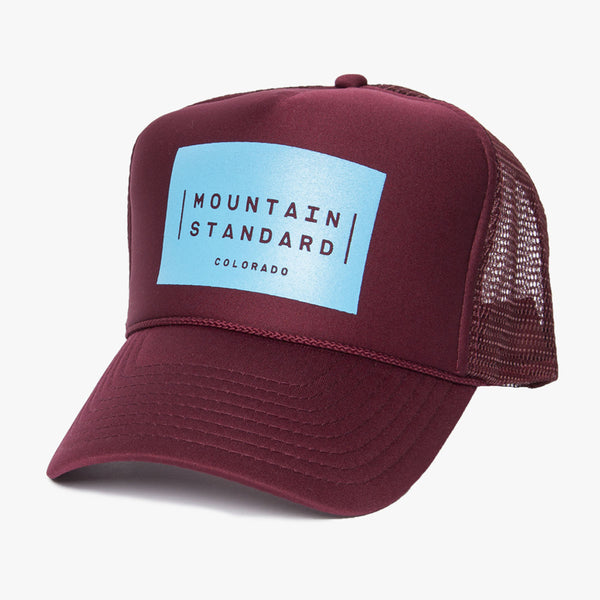 Logo Block Trucker Hat