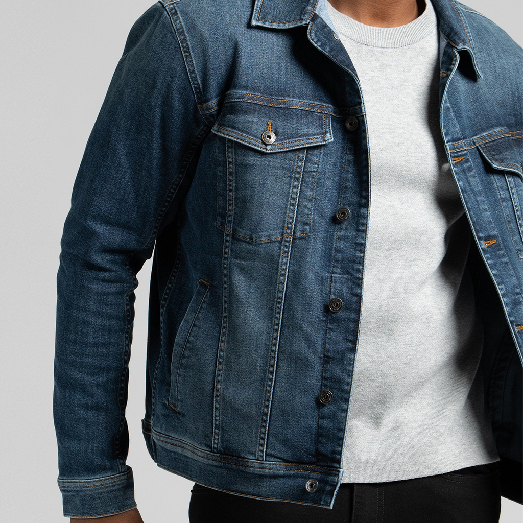 Men's Performance Denim Jacket