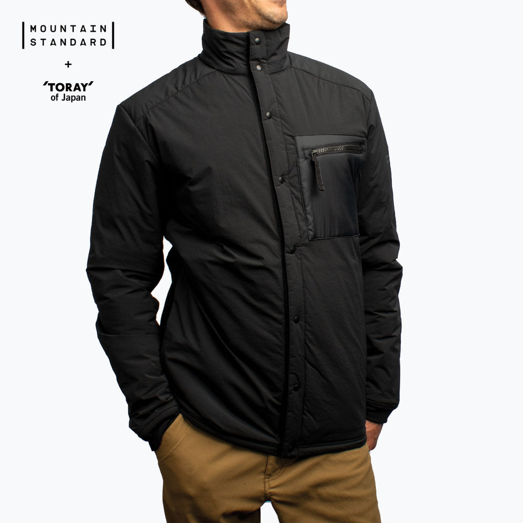 Men's Hybrid Snap Jacket