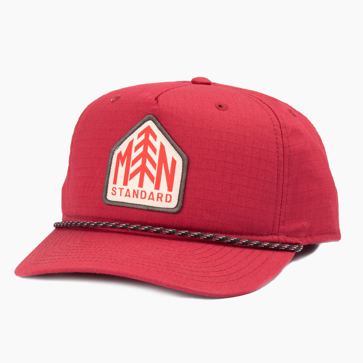 Red Pine Ripstop Trucker