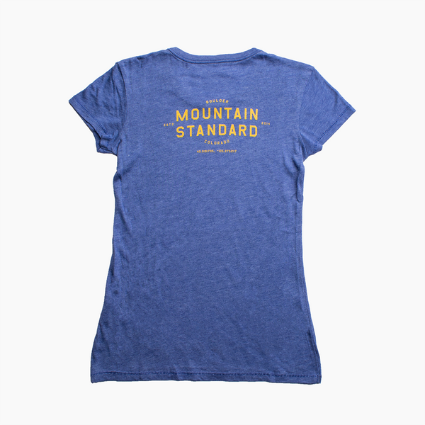 Women's Flagship Tee - Vintage Blue