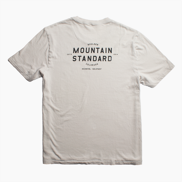 Men's Flagship Tee - Light Grey