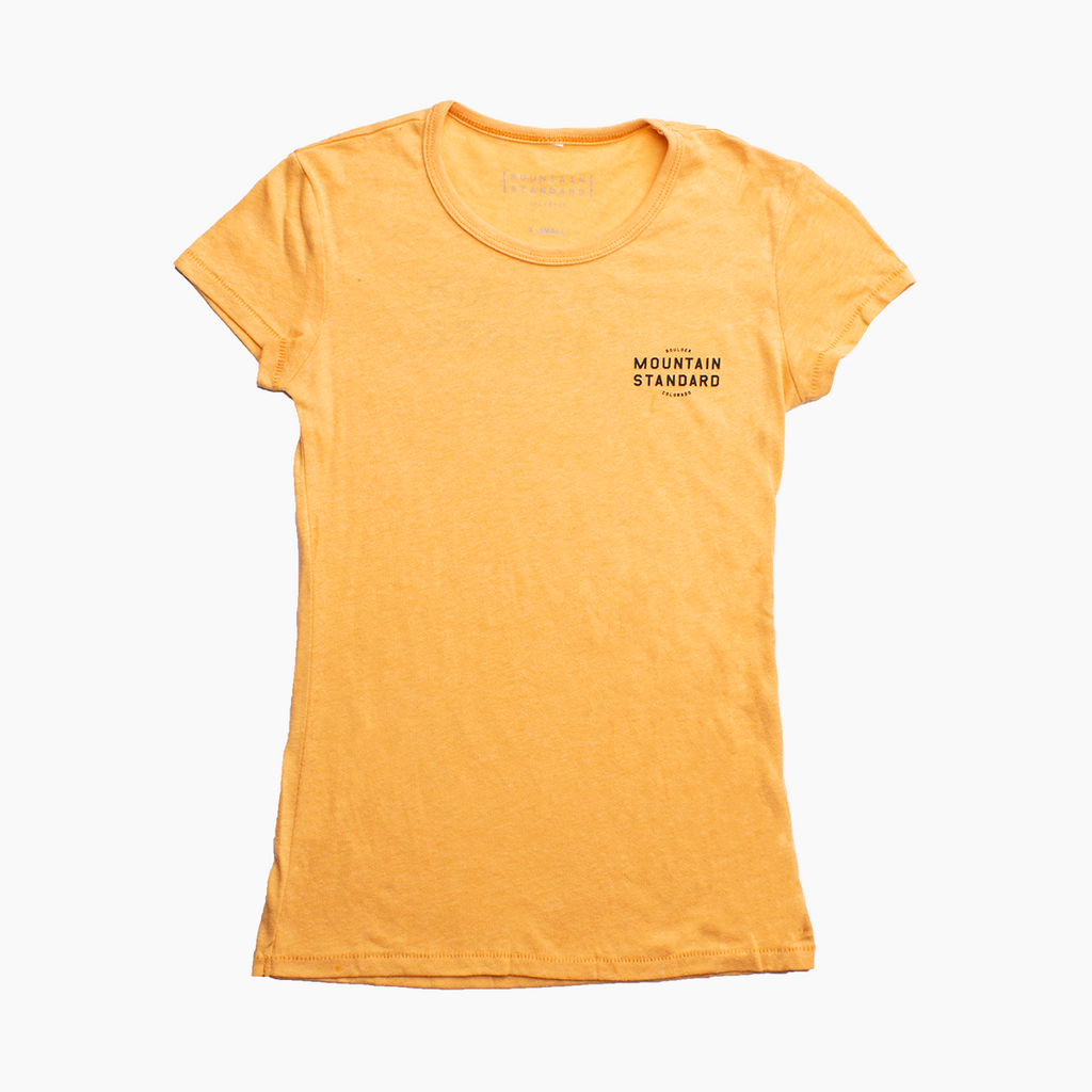 Women's Flagship Tee - Maize