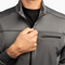 Men's 1/4 Zip Grid Fleece - Iron