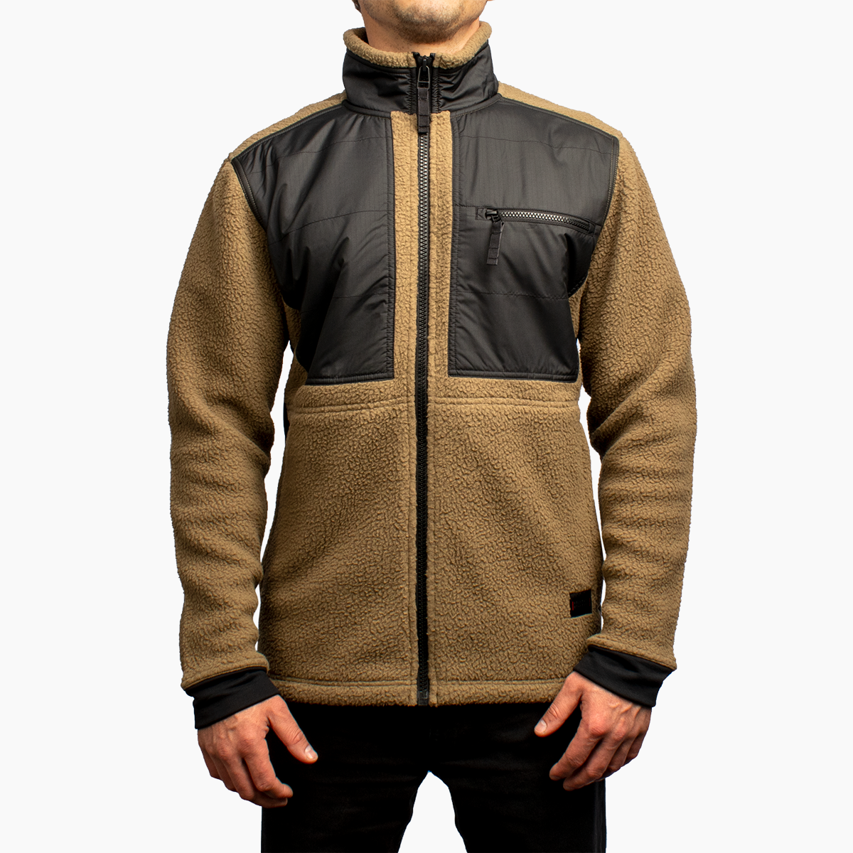 Men's Hybrid Sherpa - Bark