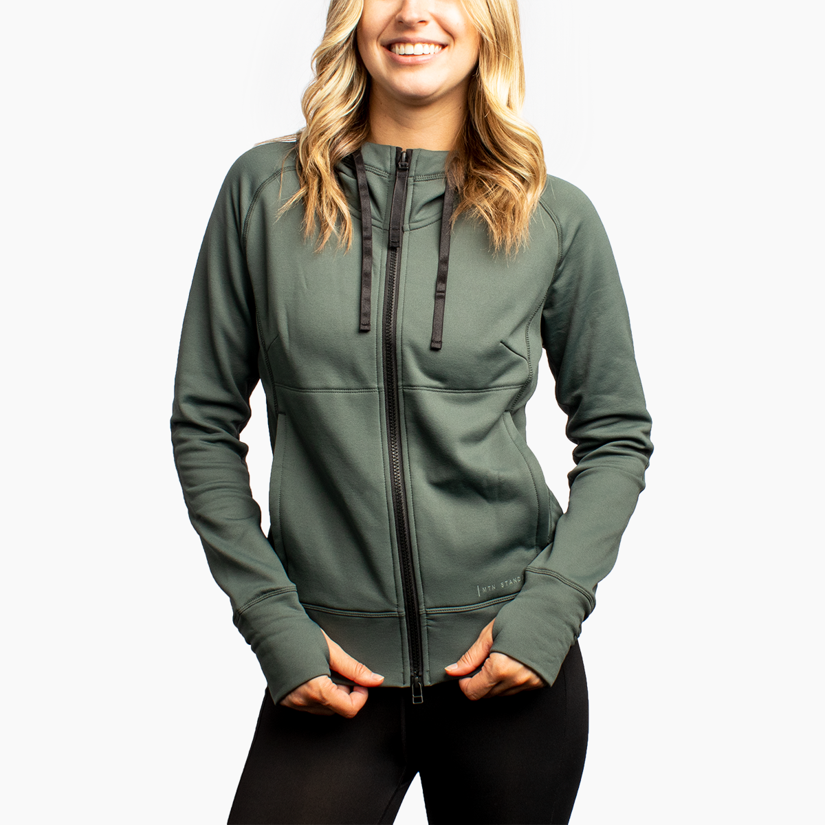 Women's MTN Utility Hoodie - Forest