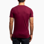 Men's Patch Tee - Maroon