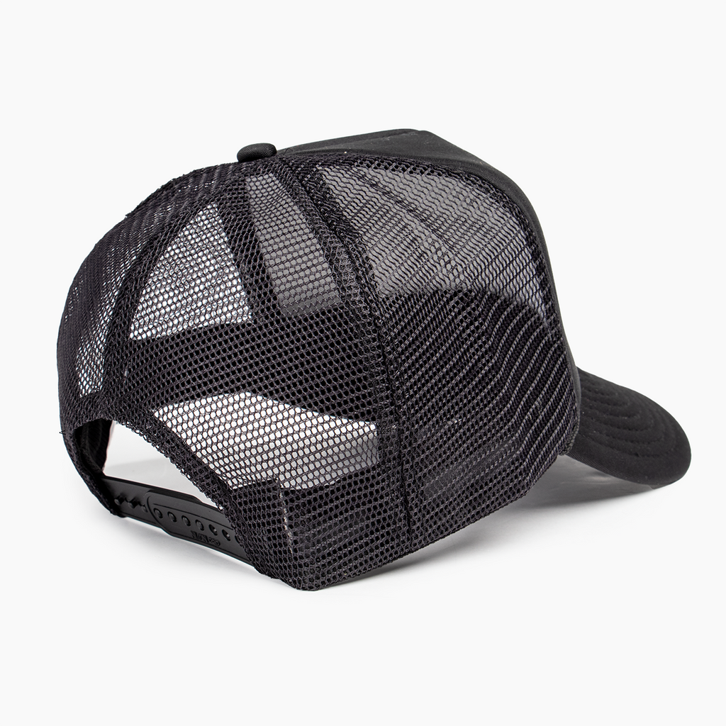 Glyphs Trucker Hat - Black
