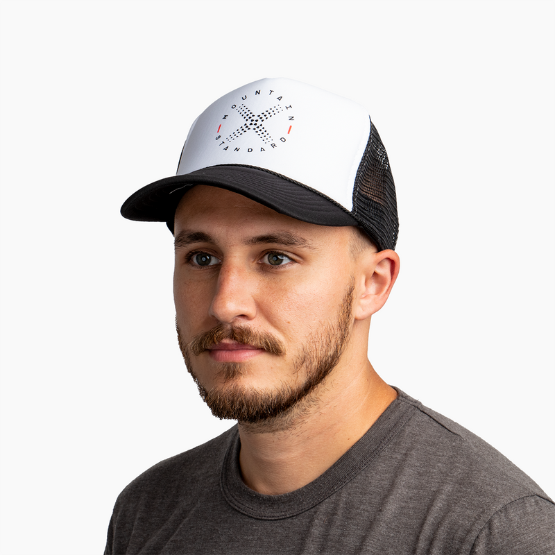 Compass Trucker Hat