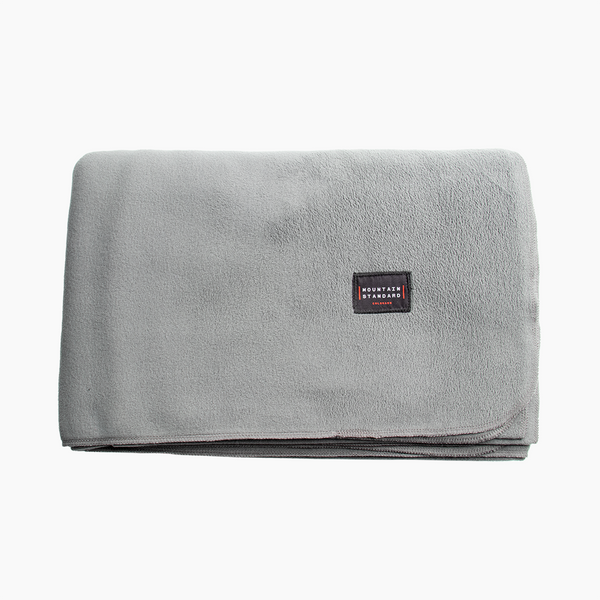 Polartec® MTN Fleece Blanket - Gravel