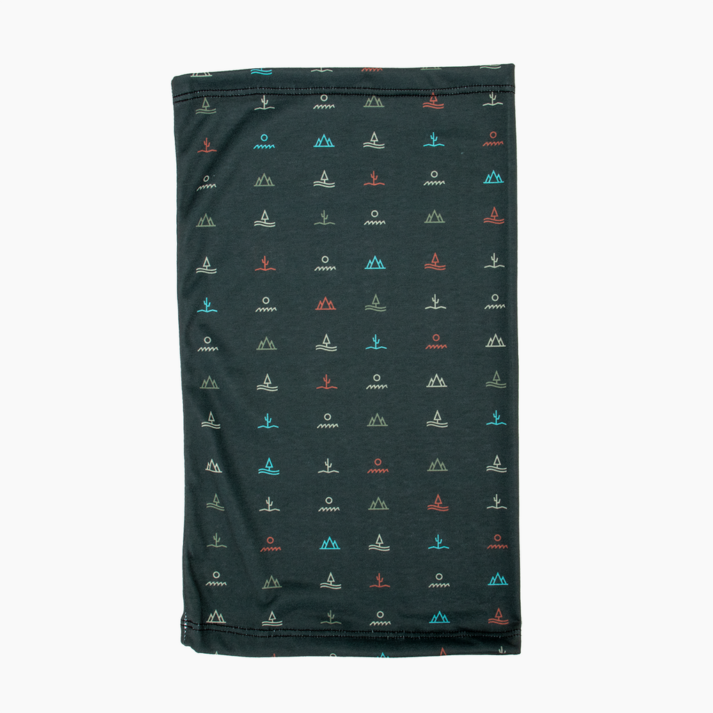 Glyphs Neck Gaiter - Multi-color