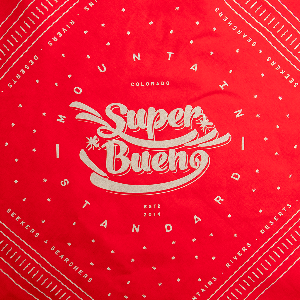 Adventure Bandana - Super Bueno Red