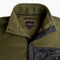 Men's Classic Polartec® Fleece Jacket - Dark Olive