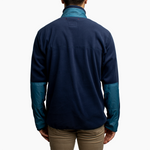 Men's Polartec® Fleece Pullover - Navy