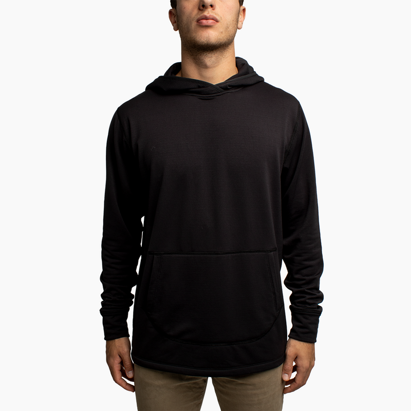 Men's Power Grid™ Hoodie - Black