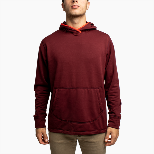 Men's Power Grid™ Hoodie - Maroon