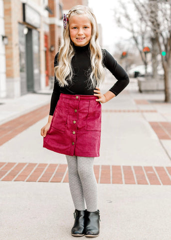 Kaley Skirt - Wine