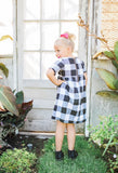 Avery Dress - Black and White